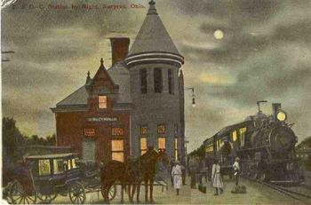 Bucyrus_station_postcard