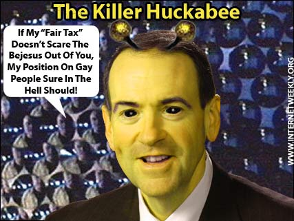 Mike Huckabee - Wikipedia.  Please God, Not Another Right Wing Nutcase.